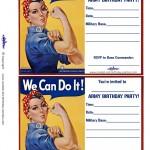 Printable Rosie Invitations