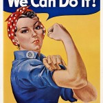 Printable Rosie the Riveter Poster