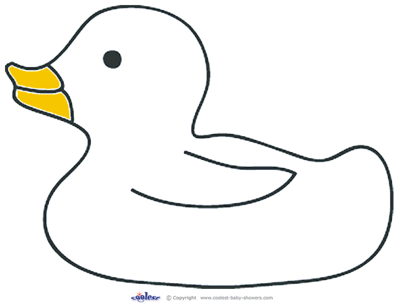 Free Coloring Pages Of Duck Outline