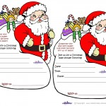 Printable Santa Baby Shower Invitations