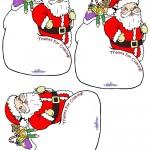 Printable Santa Thank You Cards