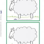 Blank Printable Sheep Invitations