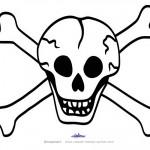Large Printable Skull