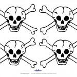 Small Printable Skull