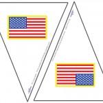 Small Printable American Flag Flags