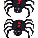 Medium Printable Colored Spider