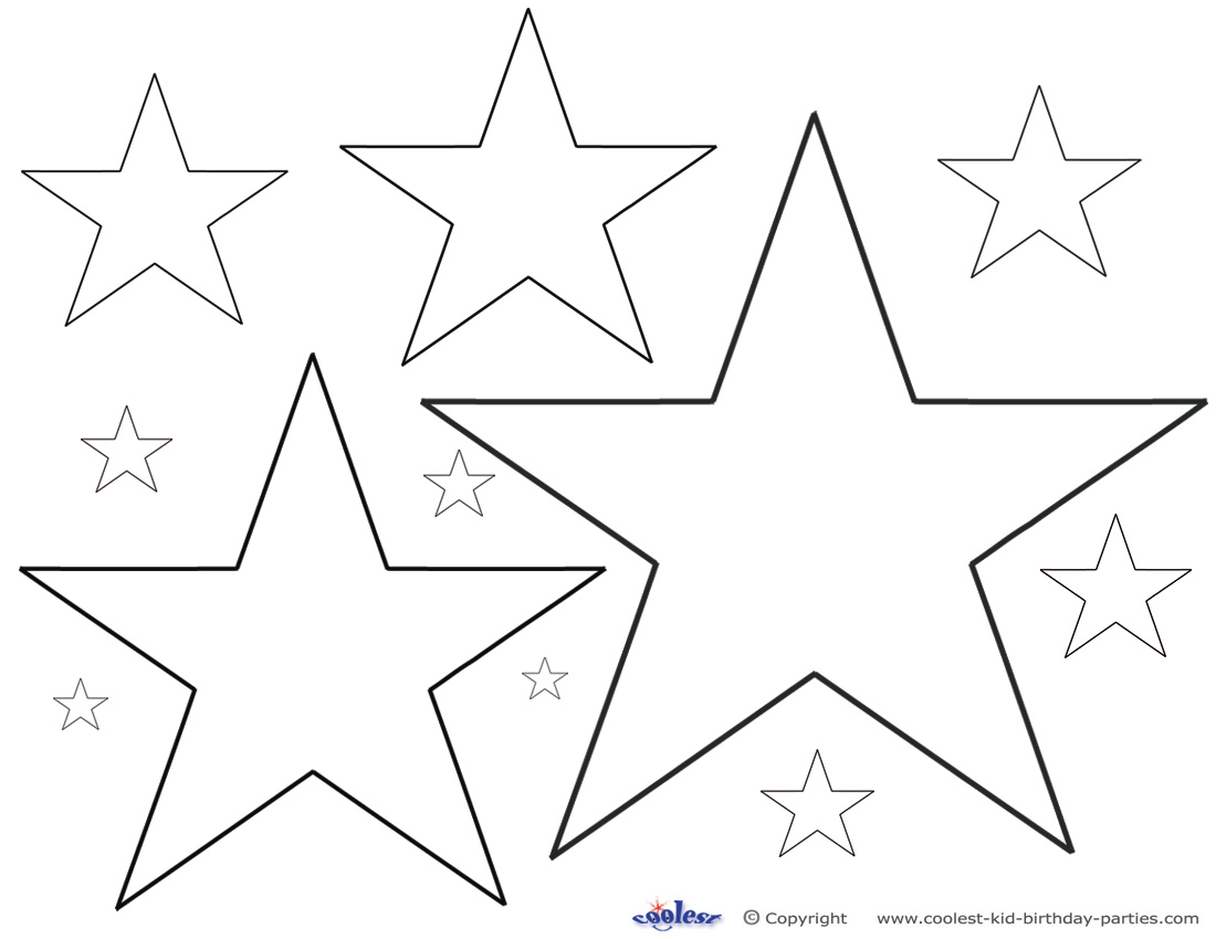 Dallas cowboy star free coloring pages for Star coloring pages printable
