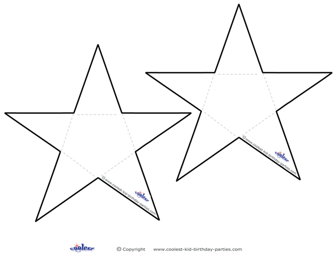 It is a graphic of Star Outline Printable intended for vector