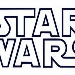 Printable B&W Star Wars Logo