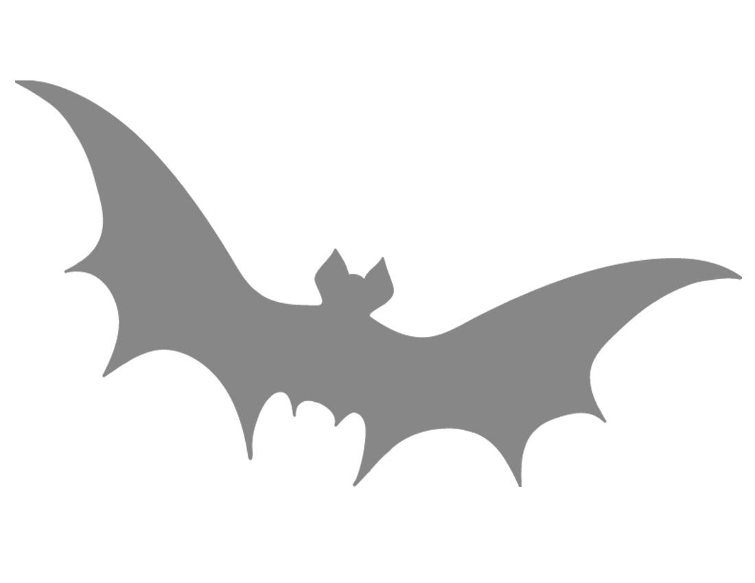 Printable Bat Stencil - Coolest Free Printables