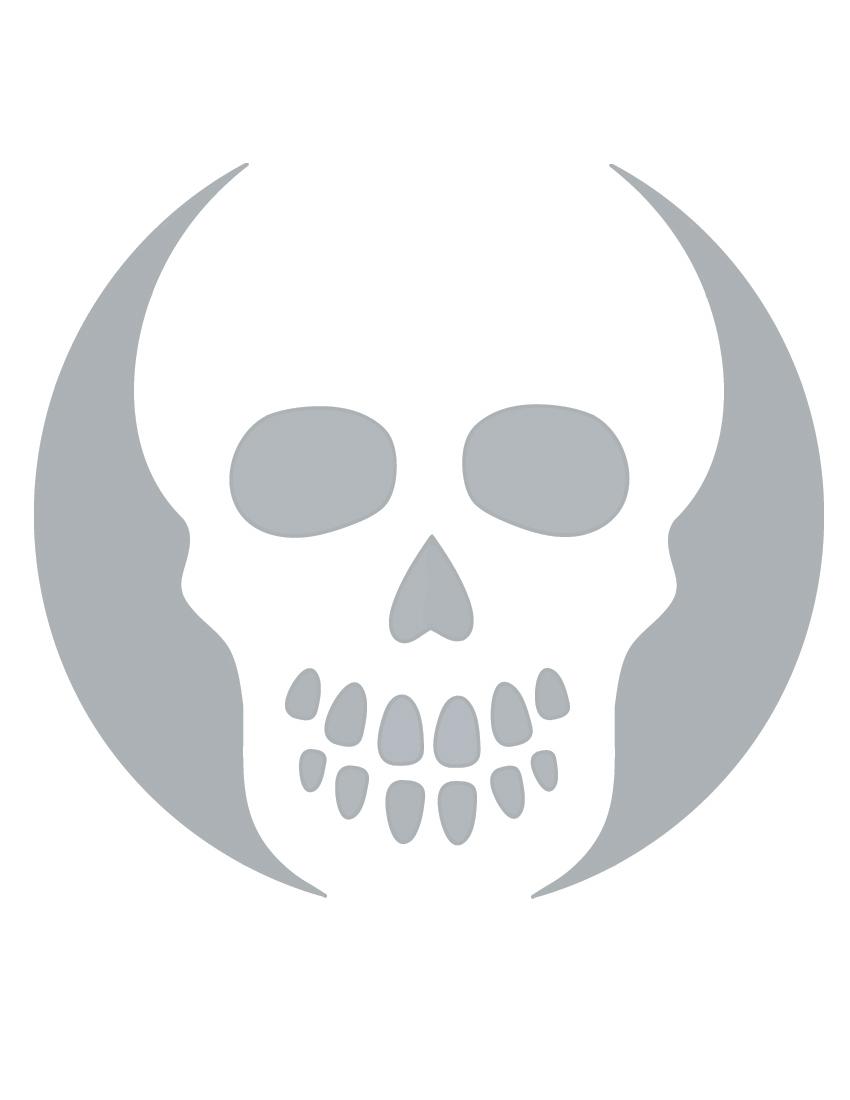 Printable Skull Stencil - Coolest Free Printables