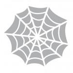 Printable Spider Web Stencil