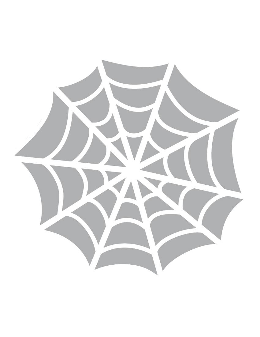 Printable Spider Web Stencil - Coolest Free Printables