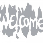 Printable Welcome Stencil