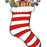 Printable Colored Stocking 2