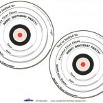 Printable Target Invitations