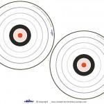Blank Printable Target Invitations