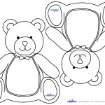 Blank Printable Teddy Bear Invitations