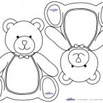 Blank Printable Teddy Bear Invitations