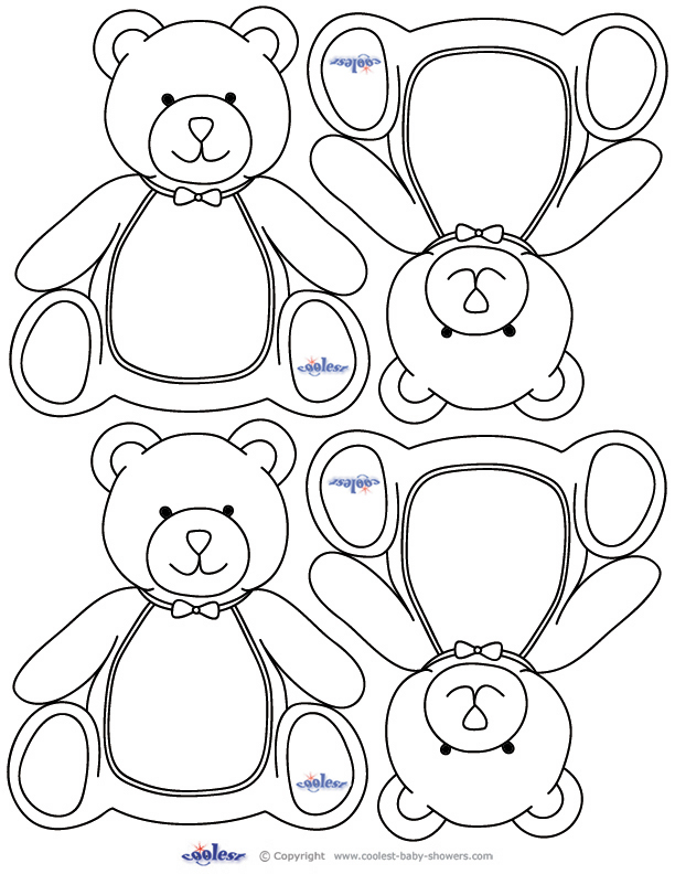 Brown Bear Puppets Coloring Together With Worksheet For Grade 1 On ...