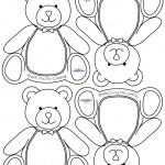 Printable Teddy Bear Thank You Cards