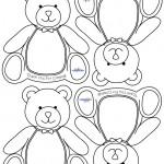 Printable Teddy Bear Thank You Cards