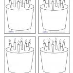 Blank Printable Cake Thank You Cards