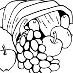 Printable Thanksgiving Coloring Page 4