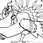Printable Thanksgiving Coloring Page 5