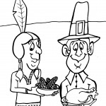 Printable Thanksgiving Coloring Page 6