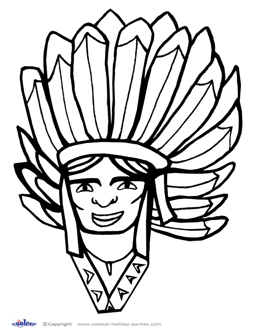printable thanksgiving coloring page 7