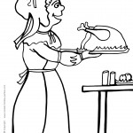 Printable Thanksgiving Coloring Page 8