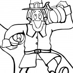 Printable Thanksgiving Coloring Page 11