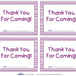 Printable Piglet Thank You Cards