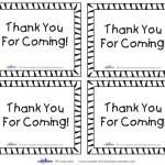 Printable Tigger Thank You Cards