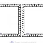 Blank Printable Tigger Invitations