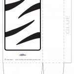 Large Printable Tigger Favorbag