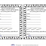Printable Tigger Invitations