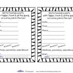 Printable Tigger Invitations