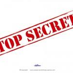Printable Top Secret Decoration