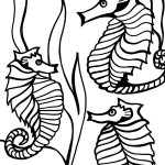 Printable Under The Sea Coloring Page 1