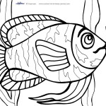 Printable Under The Sea Coloring Page 2