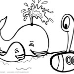 Printable Under The Sea Coloring Page 4