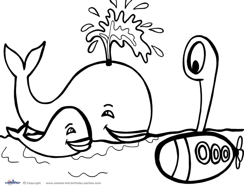 Coloring Pages For Under : Free coloring pages of under sea