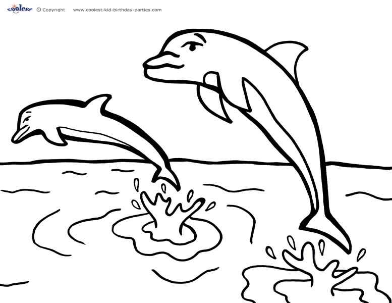 Printable Under The Sea Coloring Page 5