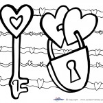 Printable Valentine's Day Coloring Page 2