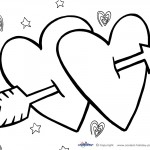 Printable Valentine's Day Coloring Page 3