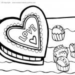 Printable Valentine's Day Coloring Page 4