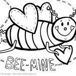 Printable Valentine's Day Coloring Page 8