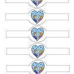 Printable Love Valentine's Day Napkin Holders